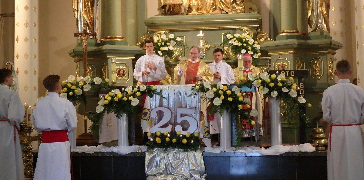 25 lat kapłaństwa o. Arkadiusza Sosny